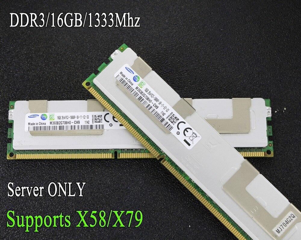 Original REG ECC kühler server speicher Samsung 16 gb 16g DDR3 1066 mhz 1333 mhz 1600 mhz 1866 mhz 1333 1600 1866 1066 RAM 32 gb 32g