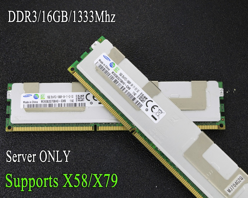original reg ecc radiator server memory samsung 16gb 16g ddr3 1066mhz 1333mhz 1600mhz 1866mhz 1333 1600 1866 1066 ram 32gb 32g fandeluxe Image collections