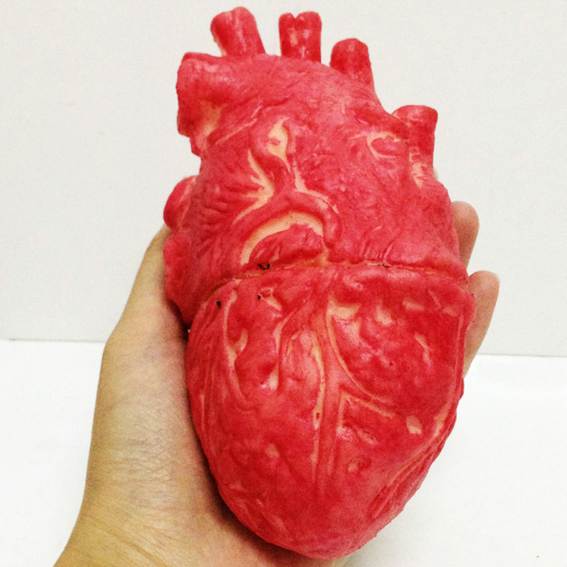 Bloody Zombie Food Human Heart Chop Shop Body Part Organ Halloween Horror Prop Toy Party Accessories 88 NSV775