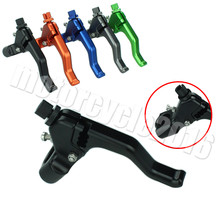 CNC Universal Motorcycles Aluminum Performance Stunt Clutch Lever Anodized For Suzuki DL1000/V-Strom 2002-2016 2013 2014 2015