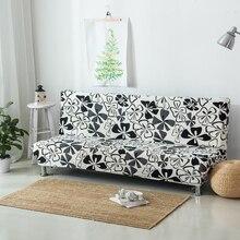 Elastische Fall Für Sofa Ohne Handlauf Gedruckt Covers Sofa Couch abdeckung Für Schlafsofa Für Couch Stretch Möbel Abdeckungen V30