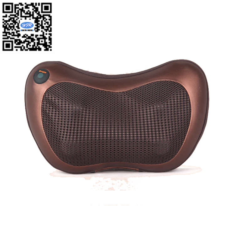 HFR-858-3D-1 HealthForever Luxury Neck Home&Car Massage Pillow Kneading and Shiatsu Machine Lumbar Massage Cushion with Heat hfr 8802 3 healthforever brand wireless control kneading device legs instrument electric shiatsu air bag foot massager machine