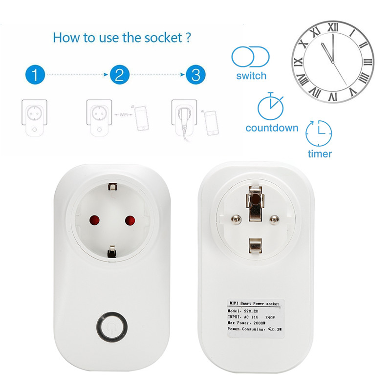 Mini Smart Wifi Socket US/EU/UK Plug Remote Control Power Strip Timing Switch for Smart Home Automation Electronic System холодильник атлант хм 4425 000 n белый