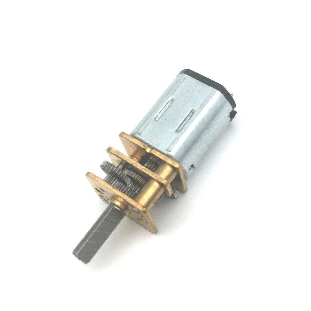 N20 DC 6V микро скоростной мотор-редуктор 40-3000RPM редуктор мотор мини-металлический Электрический редуктор мотор для модели автомобиля робота