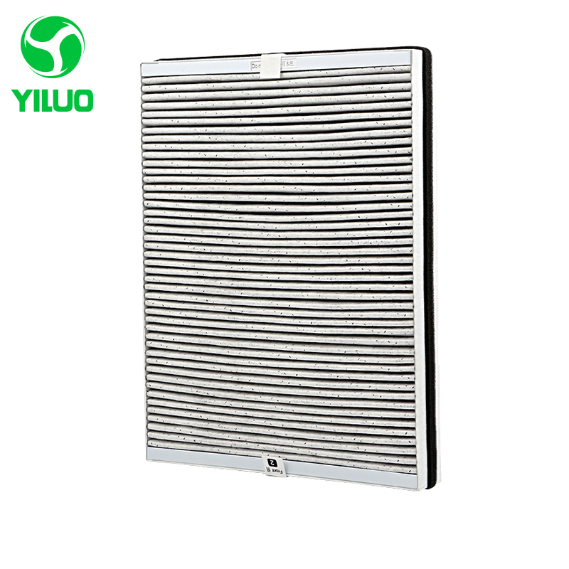 High Efficient Spare Parts Gary Composite Filter Screen to Filter Air for AC4016 AC4076 ACP077 AC4014 ACP017 Air Purifier Parts