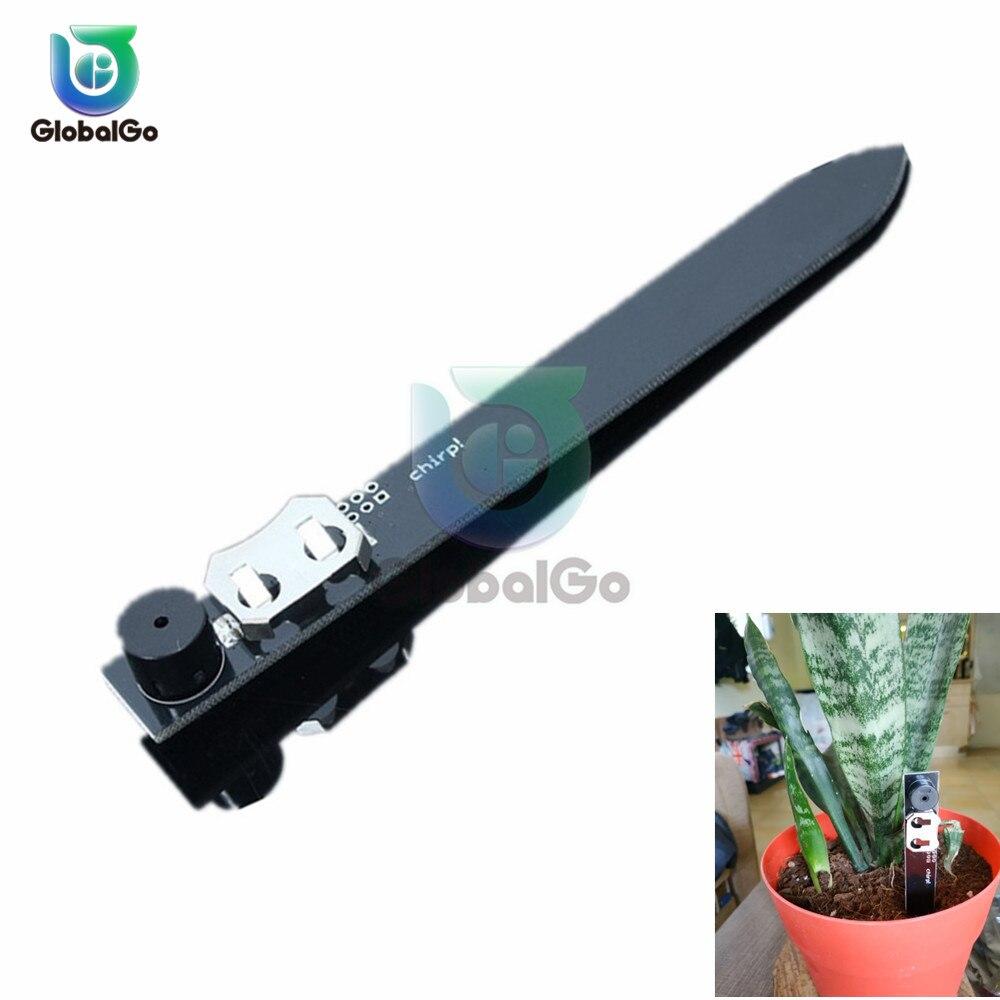 Humidity Moisture Sensor Module Soil Sensor Module Plant Watering Alarm Alerter With Buzzer Indoor Outdoor CR2032 Battery