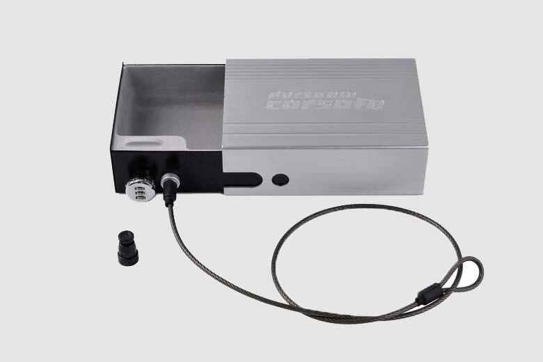 Car Safes Portable Safe Box Password Lock Safes Jewelry Cash Pistol Storage Box Aluminum alloy Security Strongbox Cable Fixed (19)