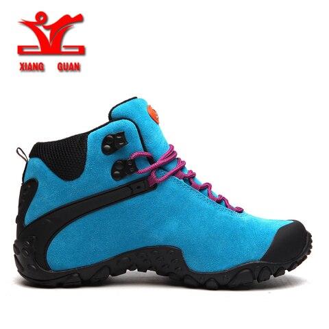 XIANGGUAN 2018 Women Hiking Shoes Outdoor Hunting Boots Waterproof Mountaine Shoes For Women Climbing shoes Free Shipping Islamabad
