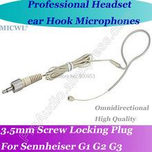 MICWL Pro Omni-Directivity Wireless Headset Microphone for Sennheiser G1 G2 G3 Bodypack Mic System