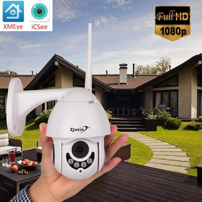 1080P Wireless PTZ Speed Dome IP Camera WIFI Outdoor 360 CCTV Security Video ip Camara para exterior IP66 Audio ONVIF IR ipcam