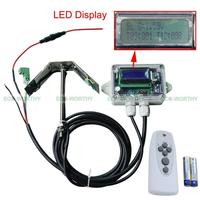 DC HOUSE 100w solar panel Tracker ,Tracking Single Axis Complete Electronics tracker controller