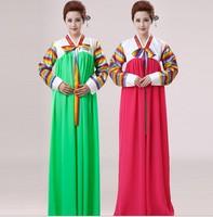 Hanbok Korean Traditional Dances Clothing For Women National Costume Korean Girls Dress Traditional Folk Dance Costumes