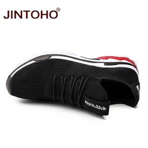 Image 5 - Jintoho 빅 사이즈 유니섹스 스니커즈 신발 여름 메쉬 캐주얼 신발 브랜드 남성 패션 신발 저렴한 남성 스니커즈 한국 남성 신발