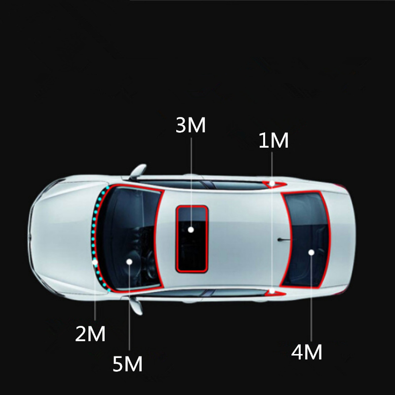 Image 4 - 3M Car sunroof seal sticker for Land Rover LR4 LR2 Evoque discovery 2 3 4 freelander 1 2 AUTO Accessories-in Car Stickers from Automobiles & Motorcycles