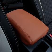 For Nissan Qashqai J11 2016 2017 Car Central armrest box 3D design Artificial Leather cover accessories
