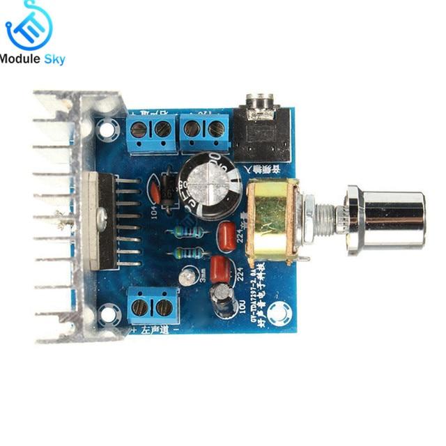 TDA7297 Version B Amplifier Board DC 9-15V 15W*2 Digital Audio Power Amplifier Module Stereo Dual Channel 15W + 15W Amplificador 1