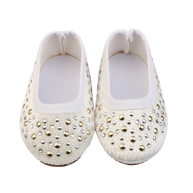7.5cm Pu Cloth With Metal Shoes For Dolls Fashion Personality Mini Shoes Doll Shoes For Diy Handmade Baby Girl Doll Accessories