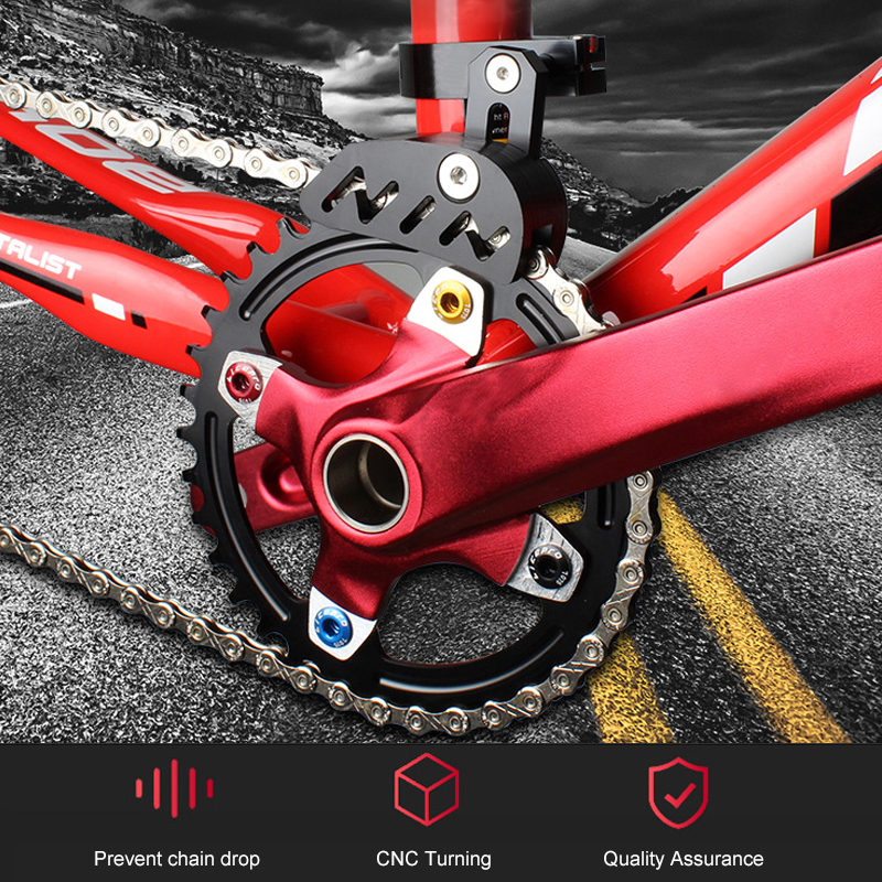 Alloy Bicycle Chain Guides Guard Catcher Direct Mount For MTB 31.8-35mm Tube