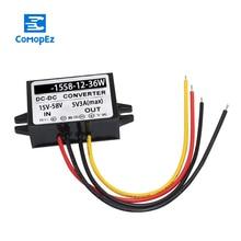 Dc Dc Converter 12V 24V 36V to 12V IP67 Waterproof Voltage Converters Power Supply 15-58V to 12V Step Down Buck Module hrl1234w f2fr 12v