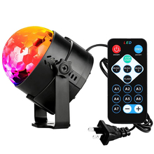 7 Colors Disco Ball Sound Activated Rotating Projector Magic stage Lighting effect Lamp RGB LED Music KTV Christmas Party Light
