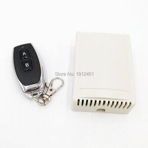Image 1 - Радиочастотный переключатель, беспроводной дистанционный контроллер постоянного тока, 12 В, 433 МГц, релейный модуль приемника, 2 стороннее управление, 2NO + 2NC для линейного привода двигателя