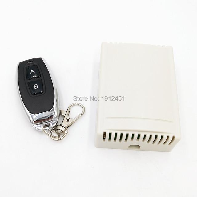 Радиочастотный переключатель, беспроводной дистанционный контроллер постоянного тока, 12 В, 433 МГц, релейный модуль приемника, 2 стороннее управление, 2NO + 2NC для линейного привода двигателя