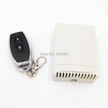 Interruptor RF remoto inalámbrico, controlador de CC mini 12V 433Mhz, módulo receptor por relé 2, control de vía 2NO + 2NC para actuador lineal de motor