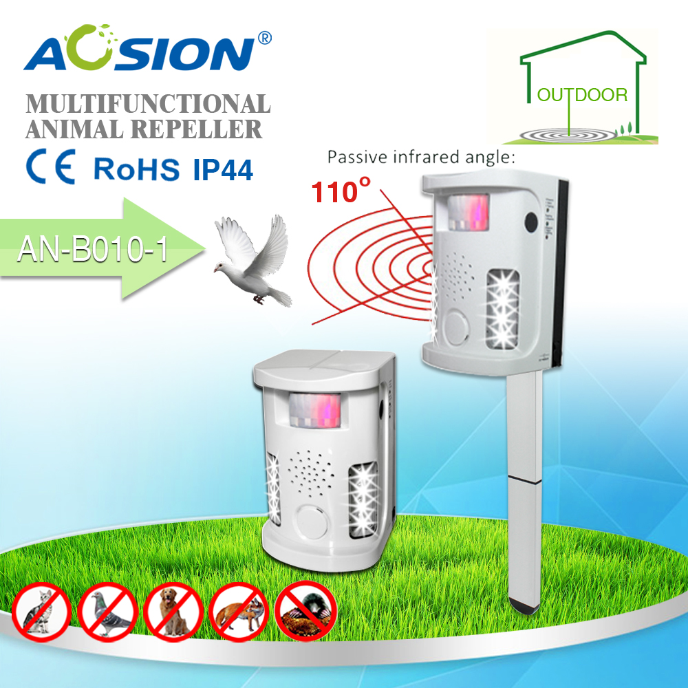 Aosion Garden Yard Use Multifunctional Ultrasonic Dog Cat Repeller Is The Circuit Diagram Of An Mosquito Repellerthe Repellent Animals Deterrent With Adaptor B010 1 In Repellents From Home On