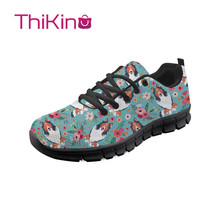 Thikin Border Collie Dog Hard-Wearing Casual Shoes Men Lightweight Breathable Safety Shoes Work Shoes  Construction Sneaker border collie car stickers decorating dog accessories