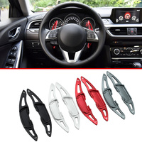 Car Styling Steering Wheel Gear Extension Paddle Shifter For Mazda 3 6 MX 5 BM BN GJ GL ND Aluminium Accessories Cover