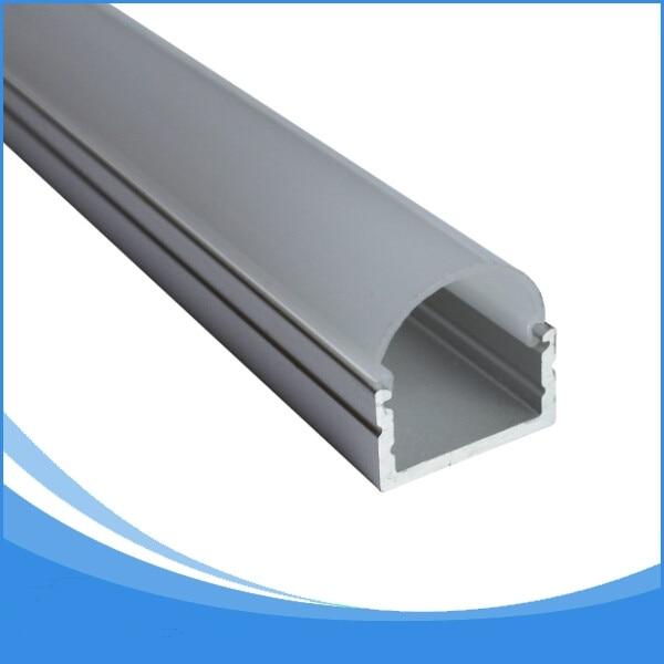 20PCS 1 m de longitud LED perfil de aluminio envío libre de DHL tira - Iluminación LED