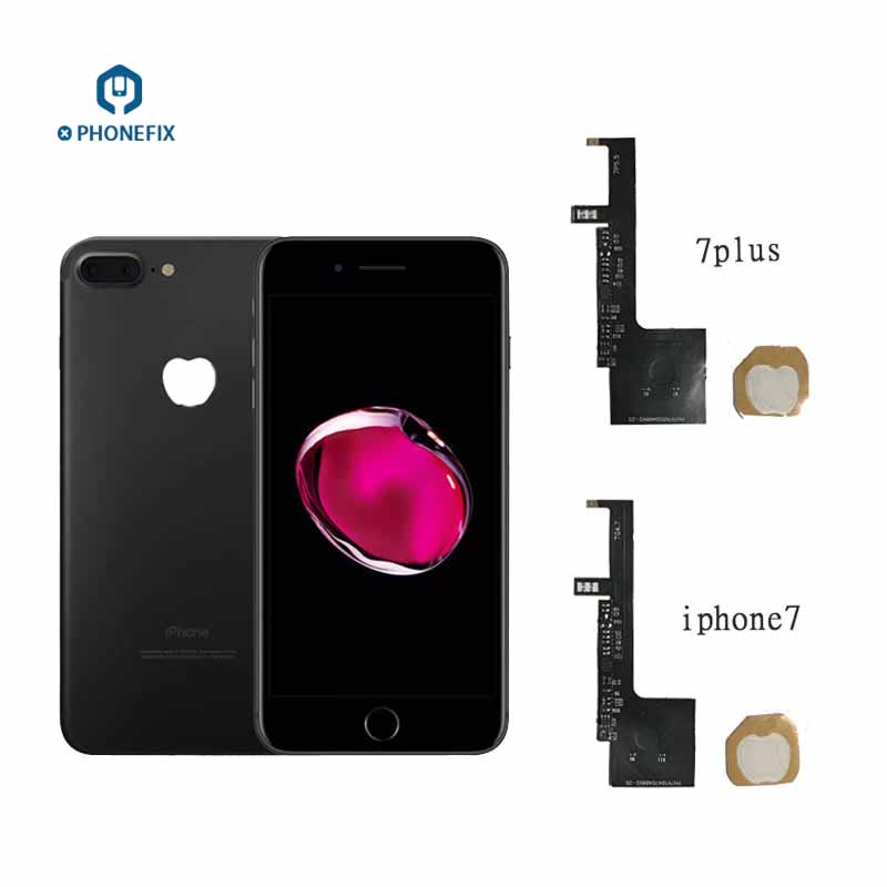PHONEFIX 16 Colors Rainbow LED Logo Light Flex Cable Touch Logo Change Color Turn Off Light For IPhone 6 6S 6P 6SP 7 7P