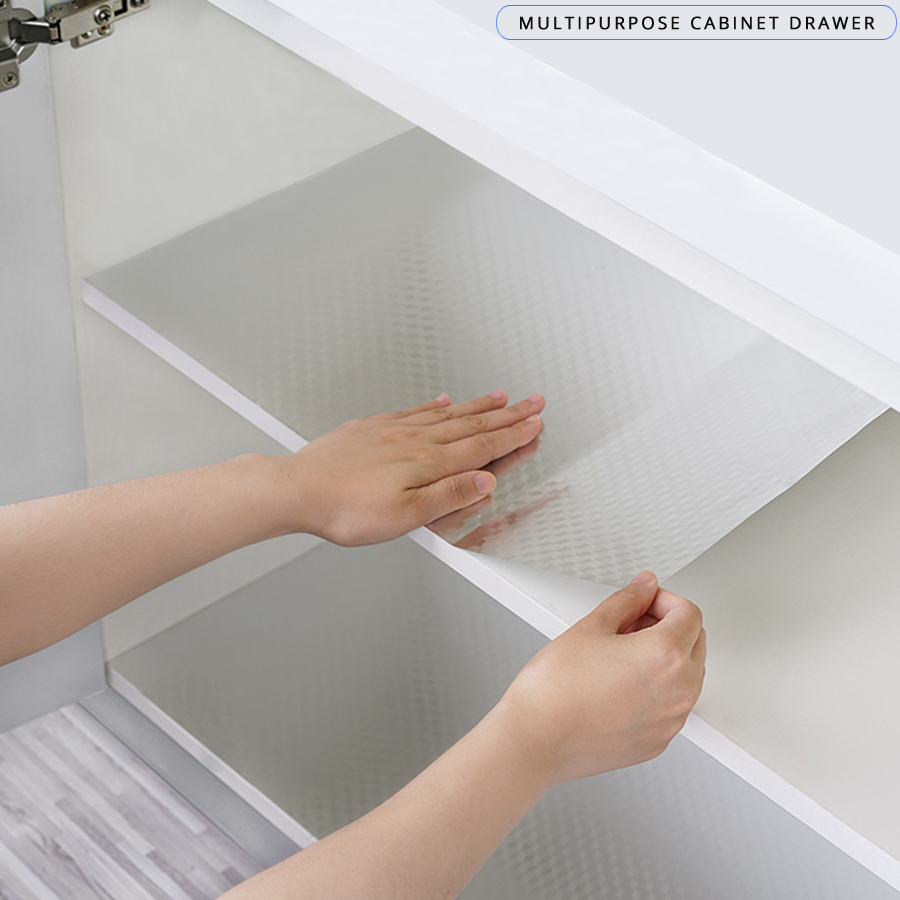 Kitchen Oil-proof Waterproof Aluminum Foil Stickers PVC Self Adhesive Wallpaper For Cabinet Countertop Desktop Home Decor Decals