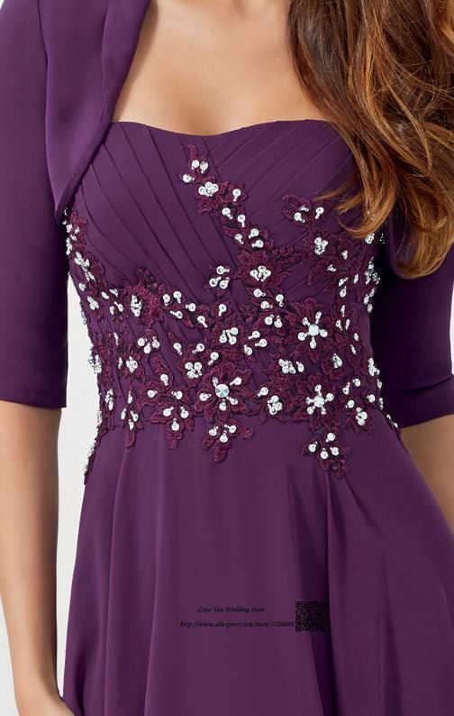 ... Plus Size Mother of the Bride Pant Suits Lace Dresses Vestido de  Madrinha 2016 Purple Blush ... 6e2cdc29ce90