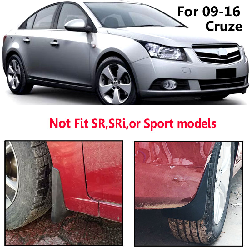 Image 5 - Mud Flaps For Chevrolet Cruze Sedan Hatchback 2009 2016 Mudflaps Splash Guards Mudguards Fender 2010 2011 2012 2013 2014 2015-in Mudguards from Automobiles & Motorcycles