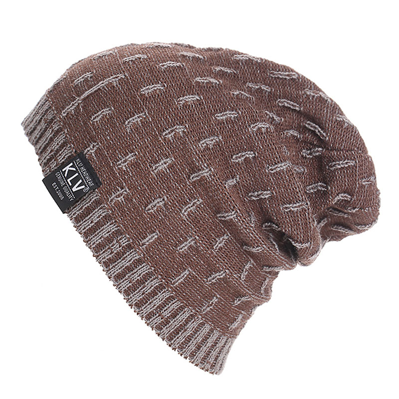 Fashion unisex gorro Knit Baggy Beanie Oversized casual Winter Hat Ski Slouchy Chic Cap