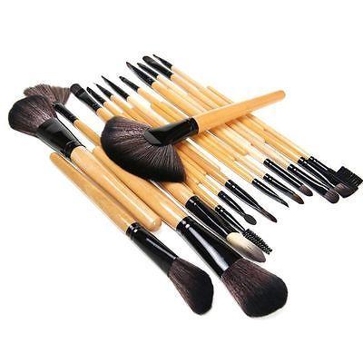 Profesional 24 Pcs Makeup Brush Set Alat Make Up Perlengkapan Mandi