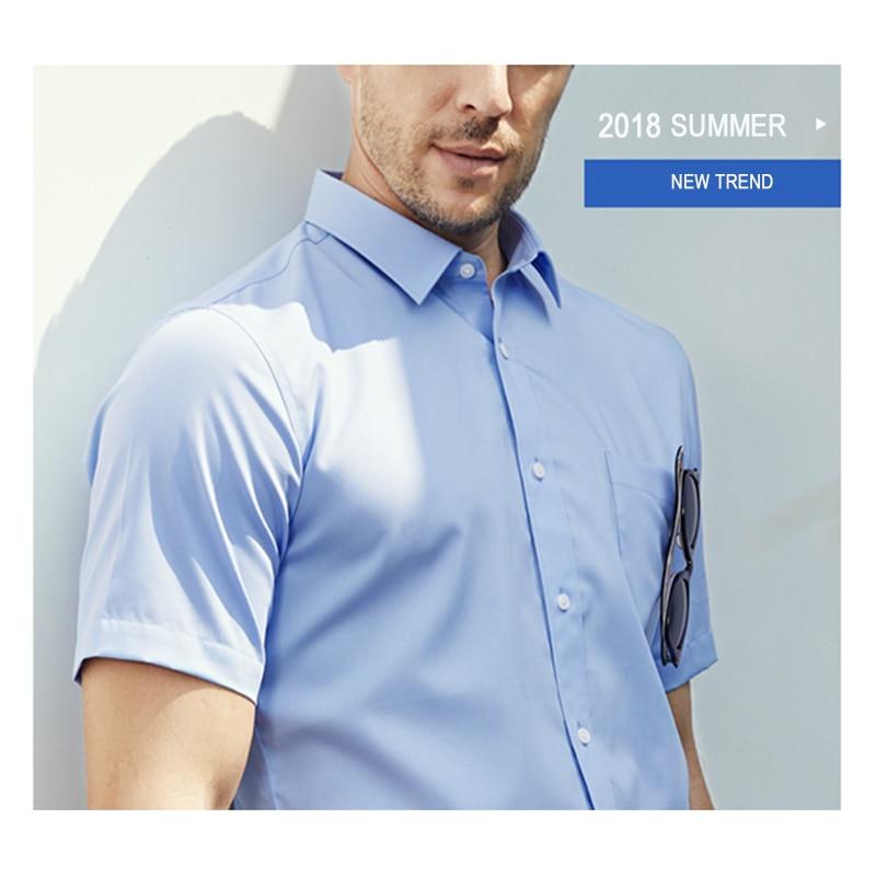 WOOD LAKE 2018 ամառային camisa masculina տղամարդիկ - Տղամարդկանց հագուստ