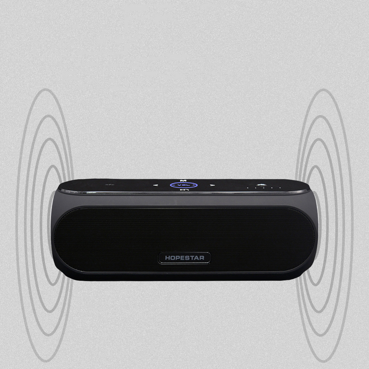 ФОТО 2017 New Arrival HOPESTAR H19 Wireless Bluetooth Speaker Bass Sound System 3D Stereo Music Surround Support NFC TF card AUX USB