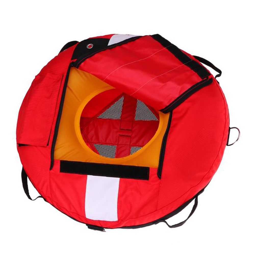 Buoy de entrenamiento de buceo libre Buoy Diver Down bandera flotador marcador de seguridad Buoyancy Signal Float Diving Gear accessroy - 2