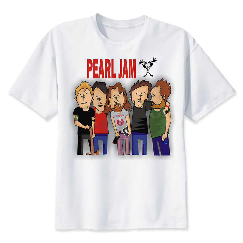 2b6ab26496 Detail Feedback Questions about pearl jam Mens T shirt Short Sleeve 2018  Summer Hip Hop Tshirt Cotton Tee Shirts T1974 on Aliexpress.com