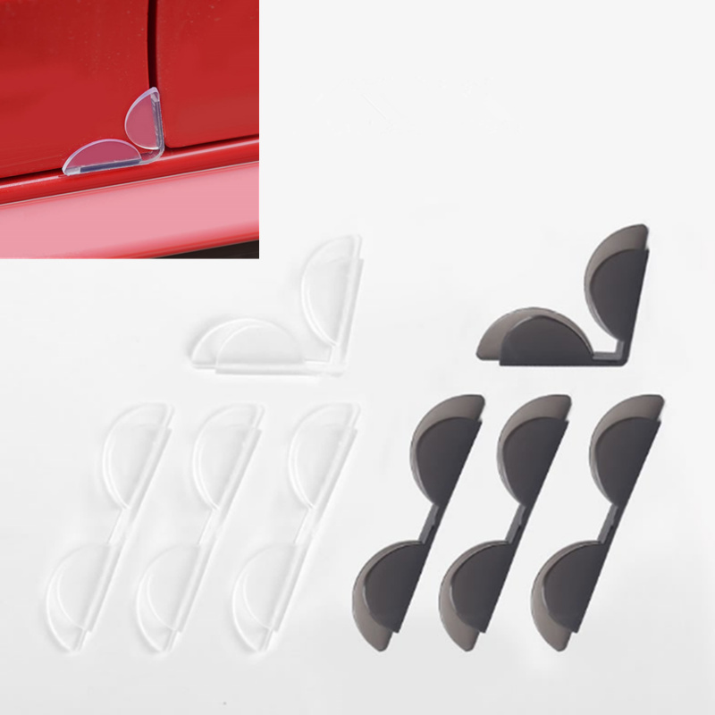 2019 NEW 4Pcs Car Door Edge Corner Guard Anti-scrash Bar Stickers For Ford Focus Kuga Fiesta Ecosport Mondeo Escape Explorer