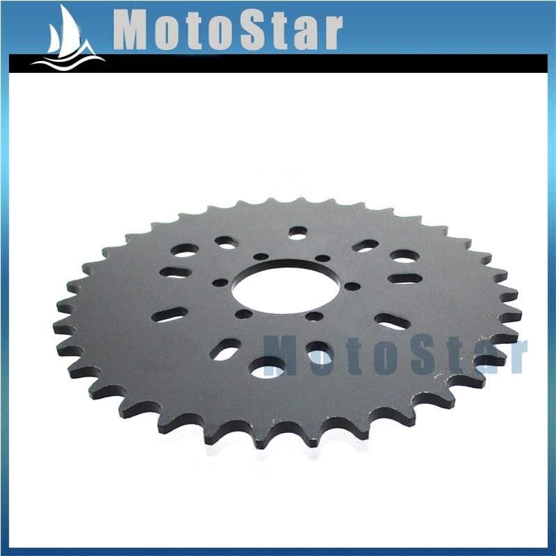36T Rear Chain Sprocket For 49cc 50cc 60cc 80cc Motorized Bicycle Push Bike