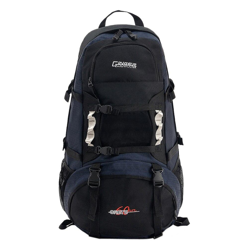 ФОТО 60L Oxford Backpack Unisex Shoulder Bag for Mountaineering Large-capacity Waterproof School Bag Leisure Notebook Laptop Backpack