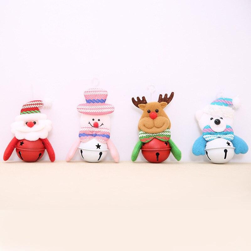 120/lot par ems cloches pendentifs suspendus porte arbre décorations pour bébé jouer voiture pendaison & hochet jouet 40% Off