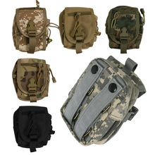 Tactical Molle PALS Utility Belt Waist Bag Travel Army Pouch for Hiking Running Outdoor Sports