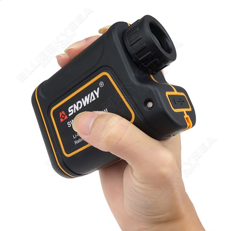 SNDWAY SW 900A 900M Laser Range Finder Scope Meter Speed Measurer Monocular Rangefinder 8x Distance For