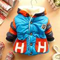 Baby Boy Clothing Winter Jacket For Girls Winter Coat Cute Letter Baby Snowsuit Infant Thick Jackets For Boys Newborn Jacket