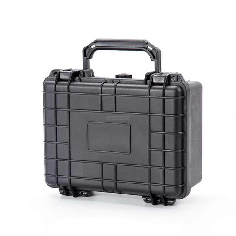 9 portable Waterproof Sealed safety equipment instrument box Outdoor Safety Equipment hardware tool box with cutting sponge