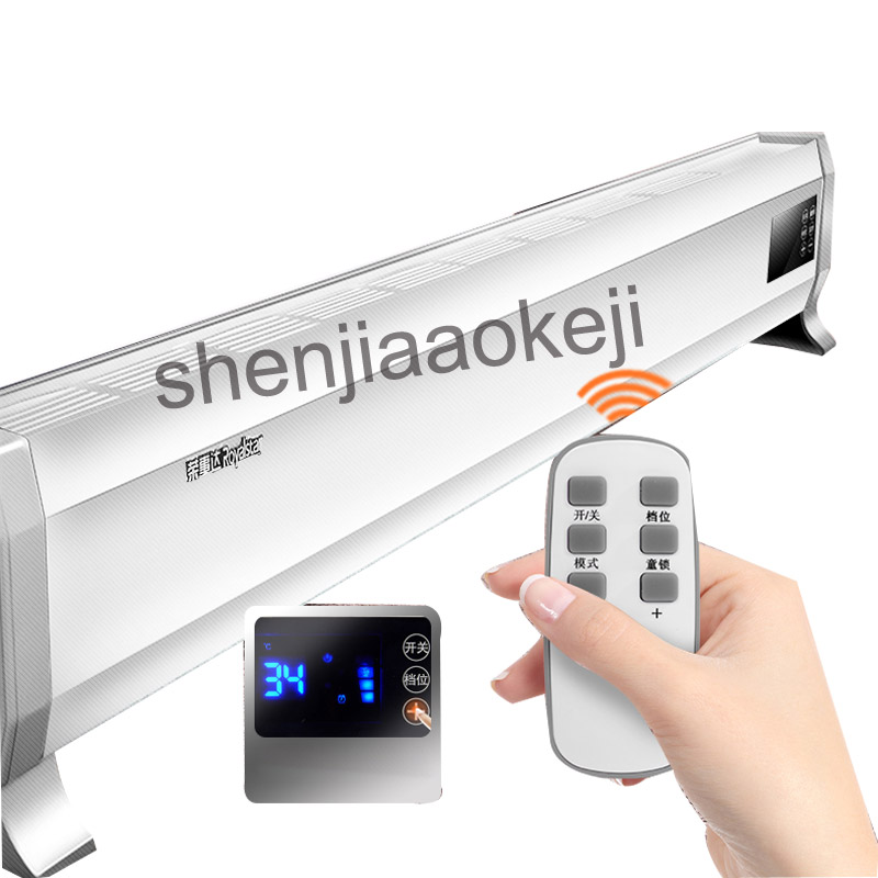 Бытовые смарт контроля температуры энергии радиатора конвекции воздуха офис вентилятор умный нагреватель 220 В (50 Гц) 2000 Вт 1 шт.